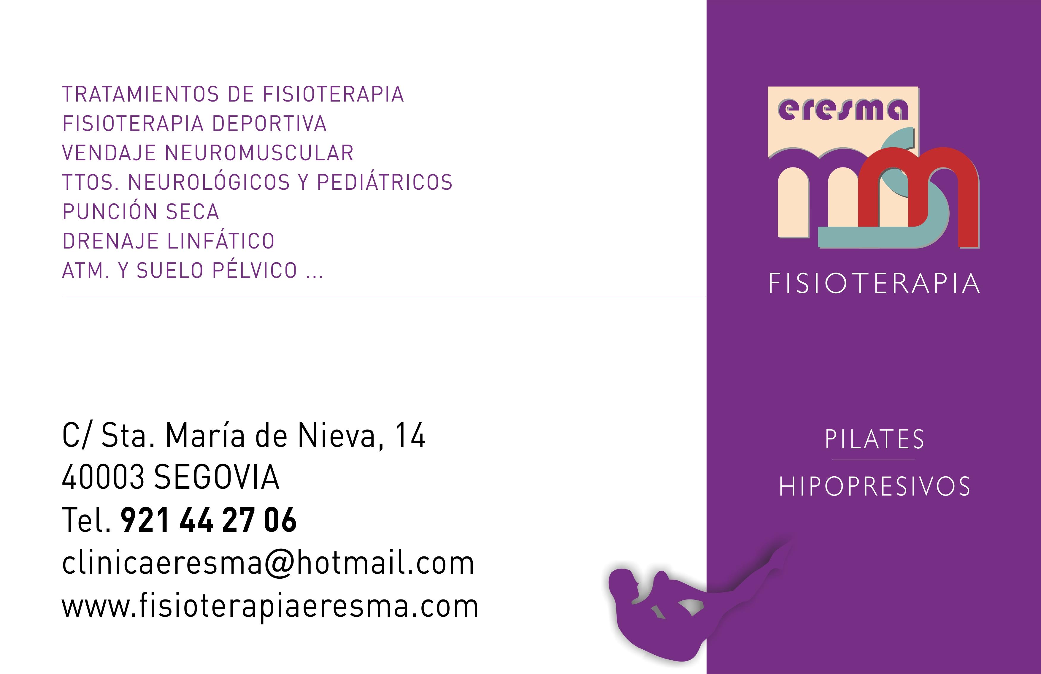 Clínica Eresma - Fisioterapia, Pilates...